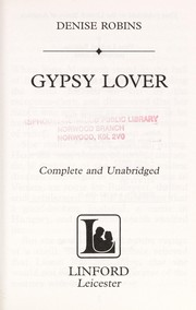 Cover of: Gypsy Lover: Romany Lover or Chain of Love