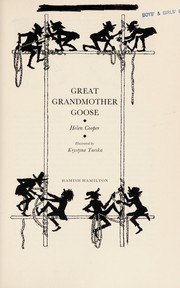 Cover of: Great Grandmother Goose