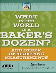 Cover of: What in the world is a baker