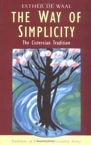 Cover of: The way of simplicity