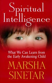 Cover of: Spiritual intelligence | Marsha Sinetar