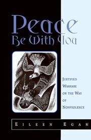 Cover of: Peace be with you