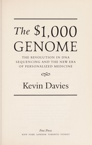 Cover of: The $1,000 genome | Kevin Davies