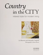 Cover of: Country in the city | Liz Bauwens