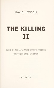 Cover of: The killing II