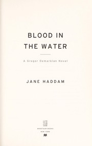 Cover of: Blood in the water