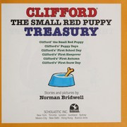 Cover of: Clifford the small red puppy treasury | Norman Bridwell