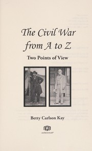 Cover of: The Civil War from A to Z
