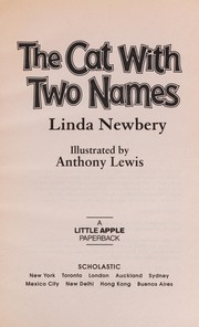 Cover of: The cat with two names | Linda Newbery