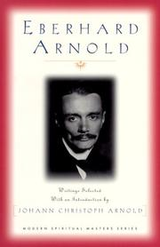 Cover of: Eberhard Arnold