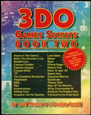 Cover of: 3DO Games Secrets: Book Two
