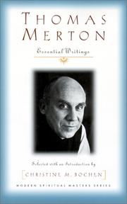 Cover of: Thomas Merton