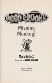 Cover of: Missing monkey!