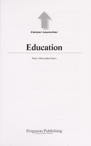 Education by Ken Mondschein