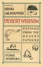 Cover of: Desert wisdom |