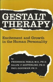 Cover of: Gestalt therapy | Frederick S. Perls