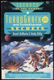Cover of: Turbografx-16 and TurboExpress Secrets | Rusel DeMaria