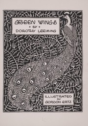 Cover of: Green wings