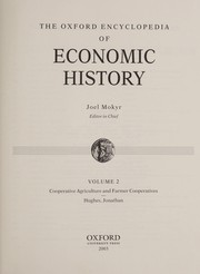Cover of: The Oxford encyclopedia of economic history