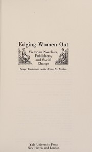 Edging Women Out by Gaye Tuchman
