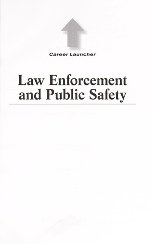 Law enforcement and public safety by Amy Hackney Blackwell