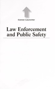 Cover of: Law enforcement and public safety | Amy Hackney Blackwell