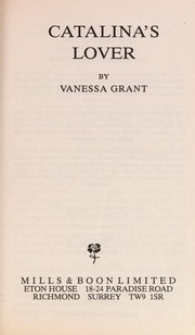 Cover of: Catalina's Lover | Vanessa Grant