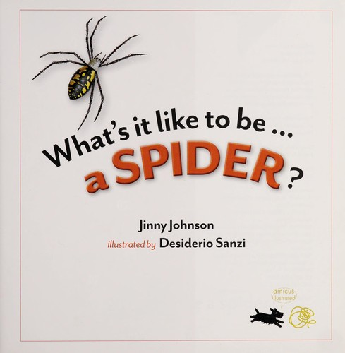 A spider? by Jinny Johnson