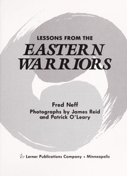 Cover of: Lessons from the Eastern warriors | Fred Neff