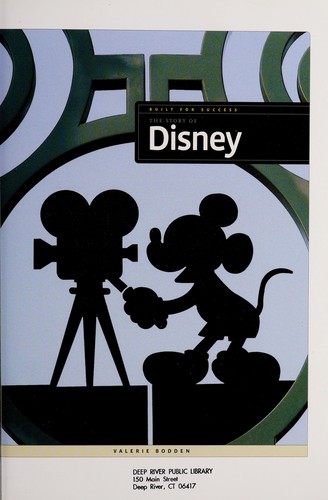 The story of Disney by Valerie Bodden