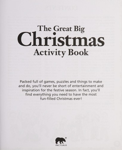The great big Christmas activity book by Helen Otway