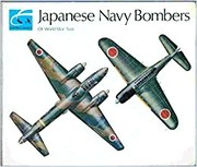 Cover of: Japanese navy bombers of World War Two