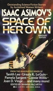 Cover of: Isaac Asimov's space of her own