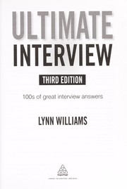 Cover of: Ultimate interview | Williams, Lynn