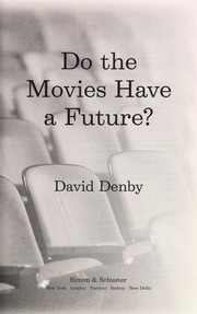 Cover of: Do the movies have a future?