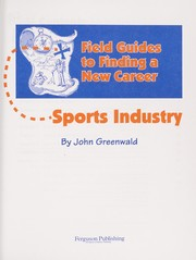 Cover of: Sports industry | John Greenwald