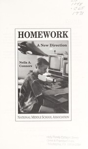 Cover of: Homework