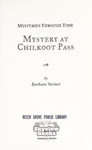 Cover of: Mystery at Chilkoot Pass