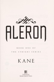Cover of: Aleron | Kane