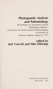 Cover of: Phylogenetic Analysis and Paleontology