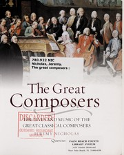 Cover of: The great composers | Jeremy Nicholas