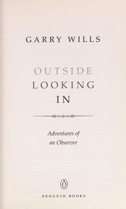 Cover of: Outside looking in