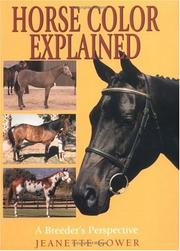 Cover of: Horse color explained : a breeder
