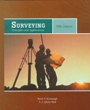 Cover of: Surveying | Barry F. Kavanagh