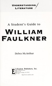 Cover of: A student's guide to William Faulkner