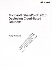 Cover of: Microsoft SharePoint 2010
