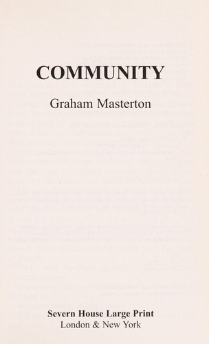 Community by Graham Masterton