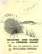 Cover of: Beaches and dunes of the Oregon coast | United States. Soil Conservation Service