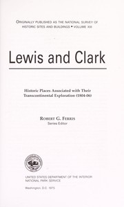 Cover of: Lewis & Clark