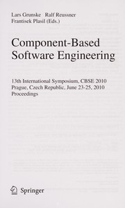 Cover of: Component-based software engineering